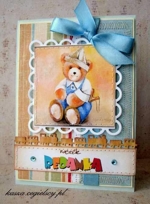 kartka z okazji pierwszych urodzin
