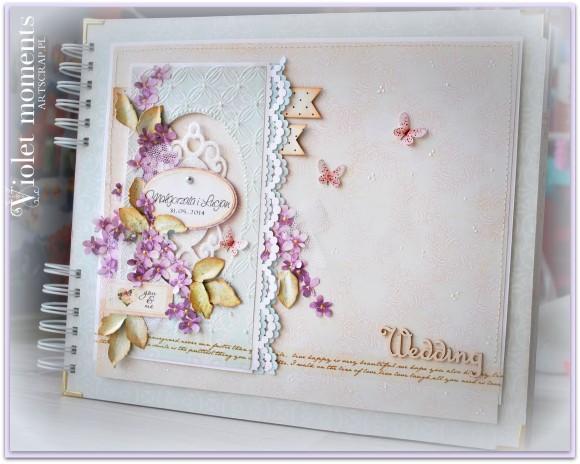 Album ślubny, podziekowsnia dla rodziców, wesele,